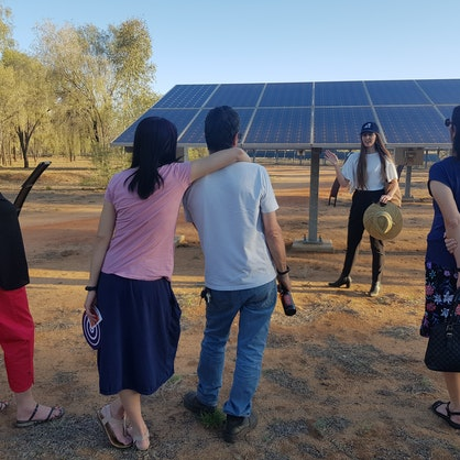 Intyalheme led activities at the October Business Month event 'Sunset Stories at the Solar Centre'