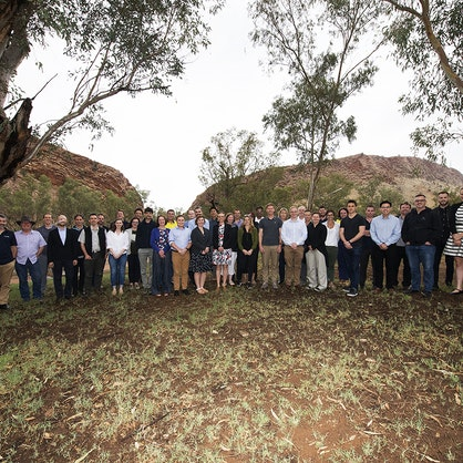 The 2018 Alice Springs A-Lab attendees